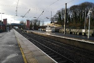 Alnmouth station. Picture by Jane Coltman