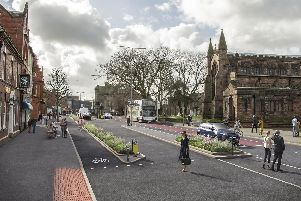 How the proposed scheme could look in Leigh