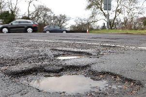Road repairs are under way thanks to new funding