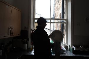 Positive story - A former homeless person pictured in Harrogate Homeless Project.