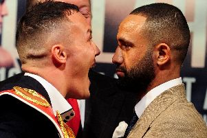 Josh Warrington v Kid Galahad