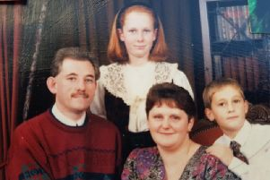 Russell Carberry with his family