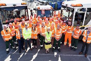 East Riding recycling team