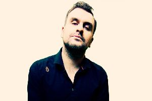 Jon McClure of Reverend and the Makers, who is set to play a DJ set at the Hartlepool Live after-party at Hartlepool Town Hall Theatre.