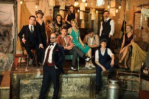 Coming to Harrogate Theatre soon - The cast of the amazing new version of The Great Gatsby. (Picture: Helen Maybanks)