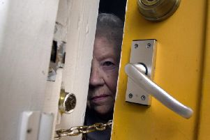 Elderly people, especially those living alone, are being urged not to let anyone into their homes if they are unsure of their identity