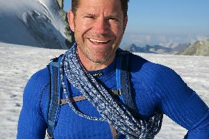 Coming to Harrogate - Steve Backshall whose new book Expedition: Adventures into Undiscovered Worlds. (Picture by Rohan Kilham)