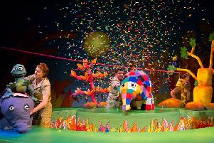 Elmer the Patchwork Elephant comes to Lincoln next month.