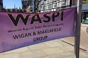Wigan and Makerfield Waspi is continuing its campaign