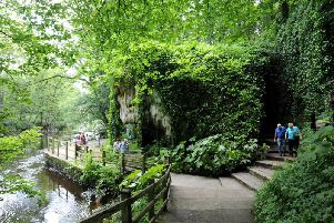 Lonely Planet travel guide accolade - Mother Shipton's Cave in Knaresborough.