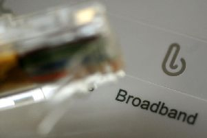 A pledge by Prime Minister Boris Johnson to speed up the roll-out of faster broadband coverage has been questioned by a group of MPs. Picture by Rui Vieira/PA Wire.