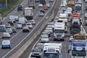 Expect delays on the M1 this morning.