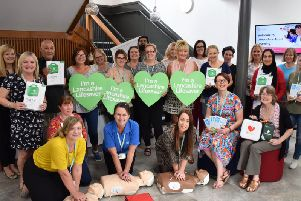 Hundreds of adult learners in Lancashire have been trained to help save lives in an emergency