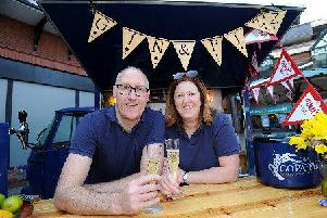 Paul and Gillian Bartlett from Preston are bringing their Copa Fizz stall to Penwortham Food and Drink Fair.