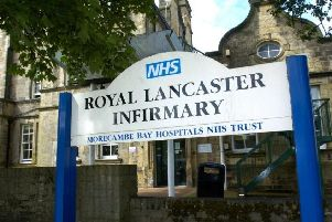 The Royal Lancaster Infirmary.