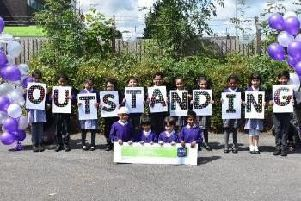 The Olive School Preston is celebrating being rated Outstanding after its first Ofsted inspection