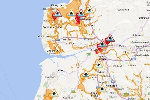 There are still a number of flood alerts in place this morning
