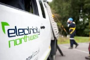 The power cut has affected 439 homes and businesses around Penwortham and Whitestake this afternoon