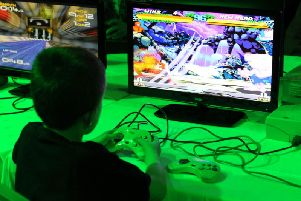Action from the Play Expo Blackpool event