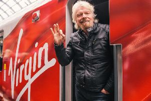 Richard Branson and Virgin partner with Stagecoach in the West Coast main line franchise