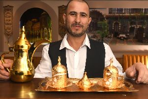 Restaurateur Redwan Alcaleh is expanding his business and opening a new Syrian restaurant in Preston