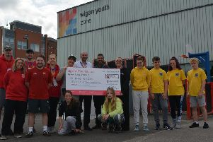 Wigan Youth Zone will use the grant to offer targeted services to young people in the area