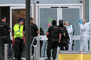 Armed police will be on patrol in Lancashire this weekend following a stabbing spree at the Arndale shopping centre in Manchester today (Friday, October 11)