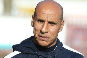 Oldham boss Dino Maamria (Photo by Pete Norton/Getty Images)