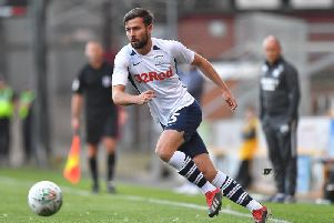 Joe Rafferty has been playing at left-back for Preston this season