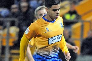 Nyle Blake scored after 40 seconds for Alfreton.