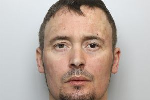 Rage: Matthew Newsome set fire to his neighbour's flat and attacked him with a hammer during dispute over loud music being played.