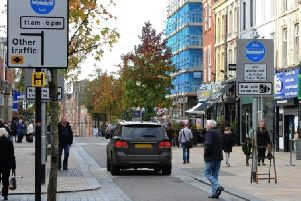 The Fishergate bus lane has proved controversial