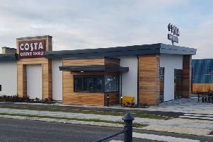 Costa Coffee Drive-Thru on the Fulwood Central Retail Park (Image: JPIMedia)