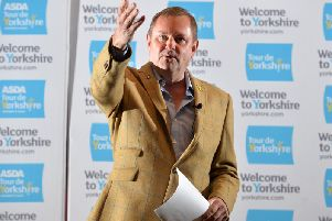Sir Gary Verity, the former chief executive of Welcome to Yorkshire.