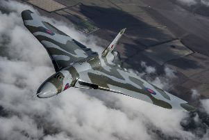The last flying Vulcan bomber XH558