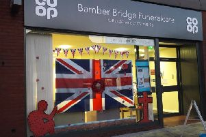 Co-op Bamber Bridge Funeral Care is hosting an open event ahead of Remembrance Day in memory of the town's war heroes.