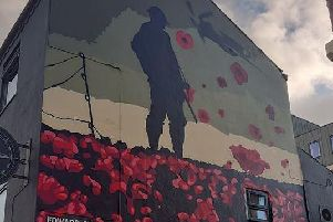The mural on the side of The Northern Way pub (Image: The Northern Way)