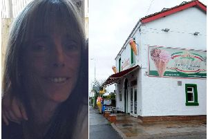 Christine Clarke, pictured, was last seen on the A6 at Chorley, near to Frederick's Ice Cream.