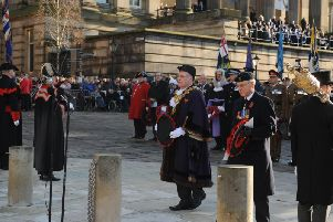 Preston Remembrance Sunday parade and service