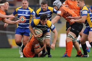 Yorkshire Carnegie's Trystan Lloyd. Pictures: Andrew Varley
