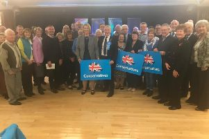 Katherine Fletcher, centre, is the Conservative candidate for South Ribble (Image: Conservative Party)