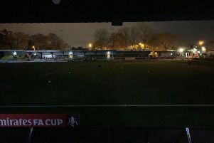 Thousands of Harrogate Town and Portsmouth fans have been kept queuing outside the CNG Stadium ahead of tonight's big game, due to a major power outage.