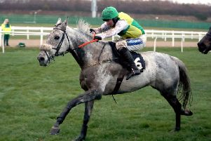 Lake View Lad ridden by Henry Brooke wins BetVictor Rehearsal Handicap Chase during Fighting Fifth Hurdle Raceday at Newcastle Racecourse. in 2018 (Picture: PA)