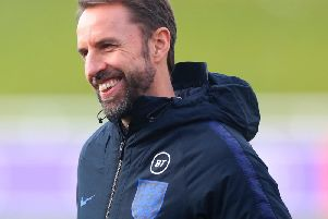 Gareth Southgate: Must decide on Raheem Sterling replacement.