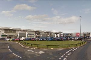 Police are dealing with a serious crash at Deepdale Retail Park. Pic: Google Maps