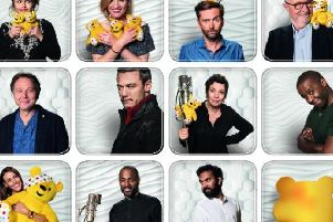Stars who were singing on an album of covers in aid of BBC Children In Need