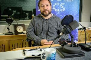 Undated BBC handout photo of actor Stephen Graham during his appearance on the Radio 4 show Desert Island Discs, where he has said his future wife came into his life after a failed suicide attempt (Picture: Amanda Benson/BBC/PA Wire)