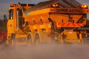 Priority routes are to be gritted in Lancashire tonight