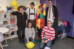 Fulwood-based Suresite Group's fancy dress day raised 316.50 for Children in Need.
