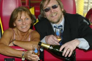 Mike and Sarah Stone, from Leyland, won 4,316,624 in March 2004